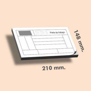 Talonarios sin copia DIN A5 210 x 148mm