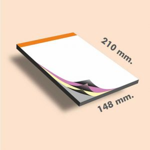 Talonarios copiativos DIN A5 210 x 148 mm