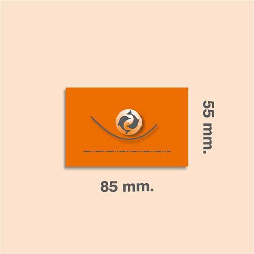 Adhesivos 85 x 55 mm