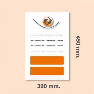 Carteles SUPER A-3 450 x 320 mm