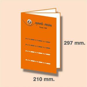 Revista DIN A4 297 x 210 mm