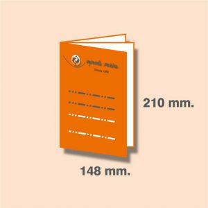 Revista DIN A5 210 x 148 mm