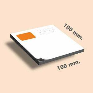 Tacos de notas 100 x 100 mm